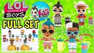 LOL Surprise Boys Series Full Set | L.O.L Surprise Boys Full Collection