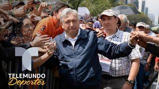 Pedro Caixinha aplaude que el Presidente de México entregue la Copa | Liga MX | Telemundo Deportes