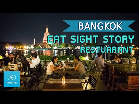 Bangkok Travel Guide - Bangkok Restaurant - Eat Sight Story Riverside Restaurant | Meetrip