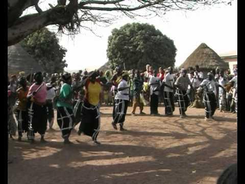 Afrika, Guinée, Babila, a traditional Malinke village