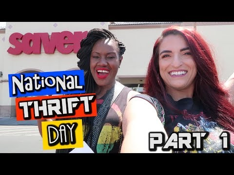 National Thrift Day Part 1| Come Thrifting With us|#ThriftersAnonymous