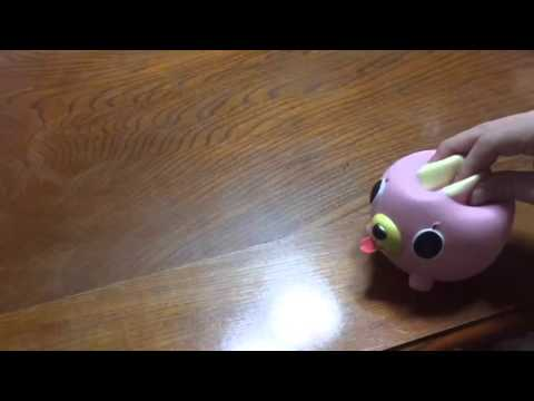 Helicopter Pink Dog Toy