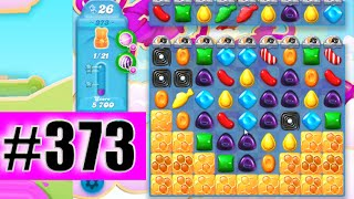Candy Crush Soda Saga Level 373 (NEW) | Complete!