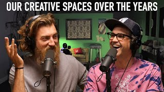 Our Creative Spaces Over The Years