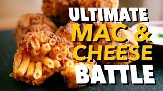 THE ULTIMATE MAC 'N' CHEESE BATTLE