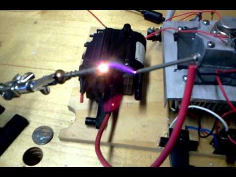 Flyback Plasma Speaker
