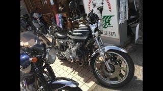 日本一のZの輝き バフがけ日本一 カワサキ・Z1A 900 Super Four スーパーカスタムZ1 Kawasaki・Z1A900 Super Four 三重県 伊勢志摩