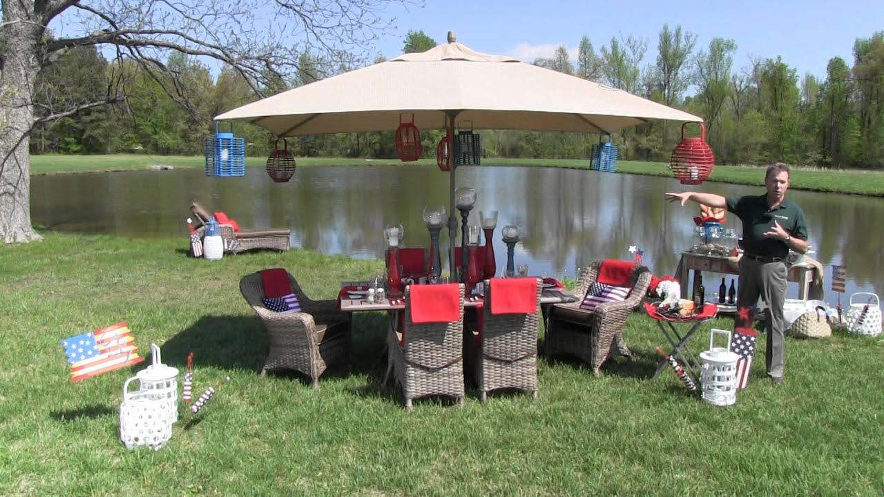 Memorial Day Outdoor Party Decor Trees N Trends Unique