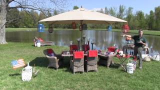 Memorial Day Outdoor Party Decor - Trees N Trends - Unique Home Decor