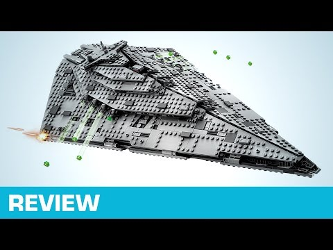: LEGO First Order Star Destroyer 75190  Star Wars  The Last Jedi