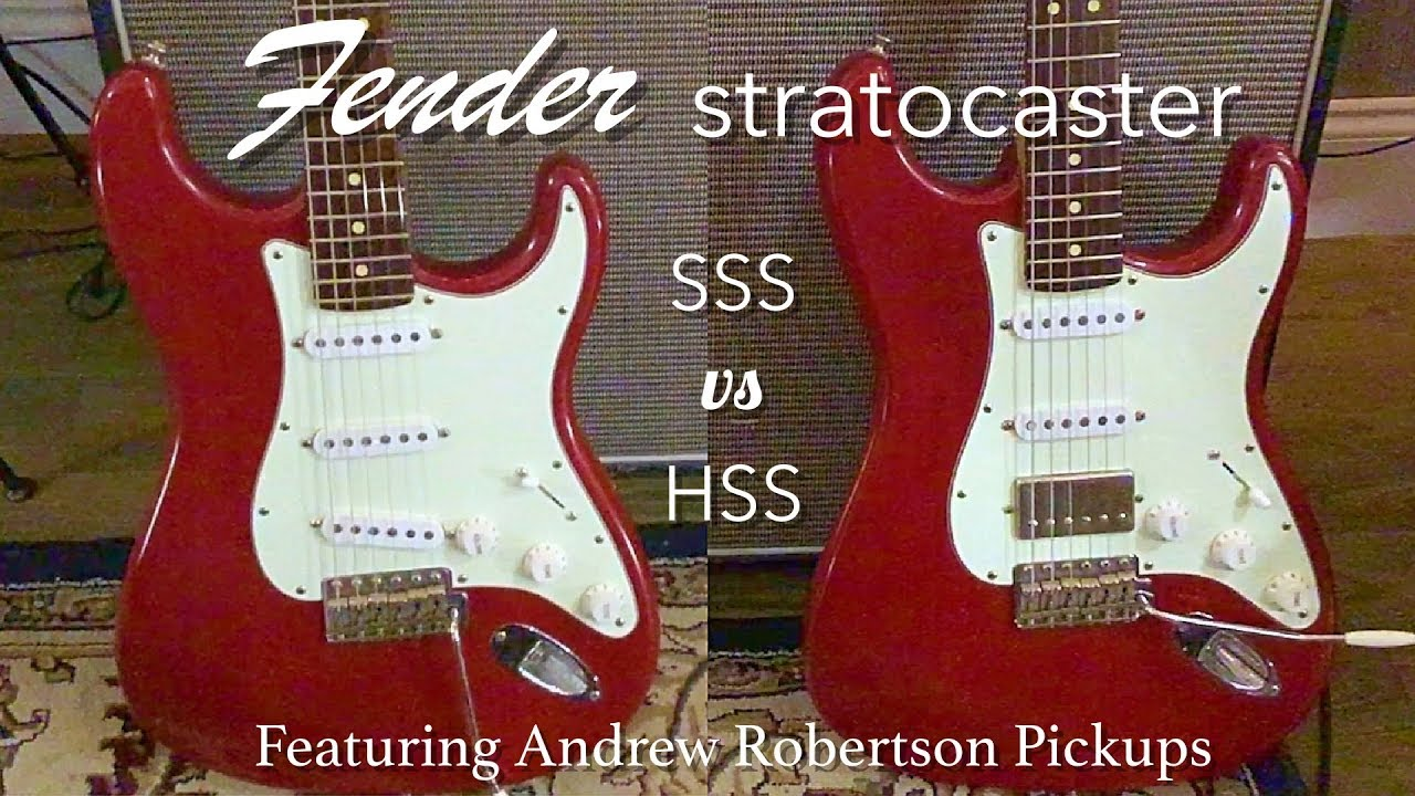 Stratocaster Guide Which Strat To Buy Model Comparison Fender >> Fender Stratocaster Comparison Sss Vs Hss