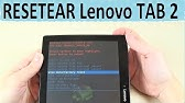 how to hard rest or factory reset Lenovo tab 10 and others