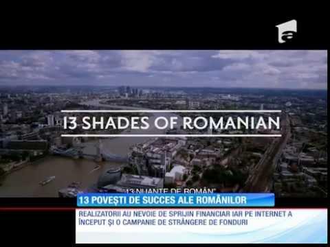 13 Shades of Romanian Aka 13 Nuante de Roman @ Antena1 Observator
