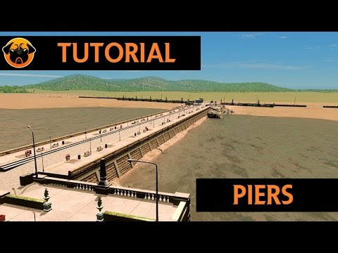 Cities: Skylines Tutorial - Let's Build a Seaside Pier