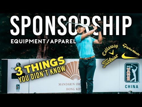 Pro Golf Sponsorship - 3 Things You Didn't Know
