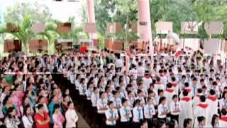 Thánh Lễ Thêm Sức Cộng Đoàn Giáo Xứ Russeykeo ngày 25/07/2012 .mpg