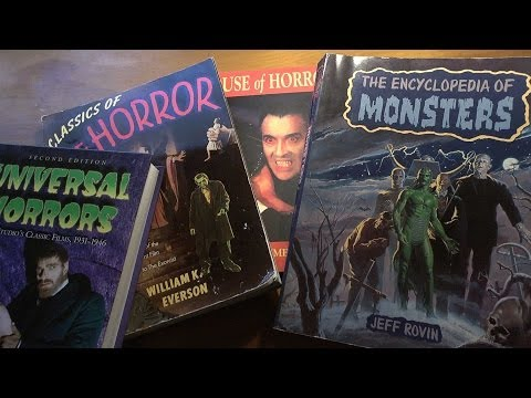 Monster Movie Books Part 1 - Lookin' At Books (Episode 2)