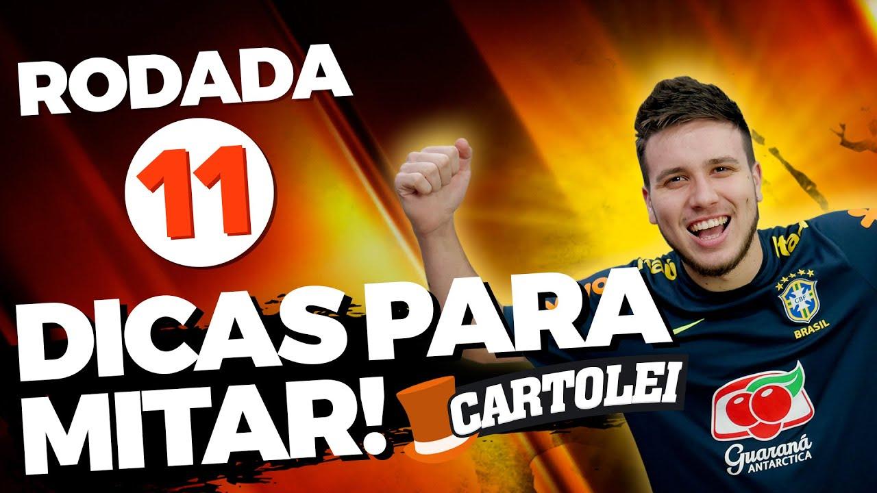 Cartola FC: Dicas e apostas para o time ideal na Rodada 11