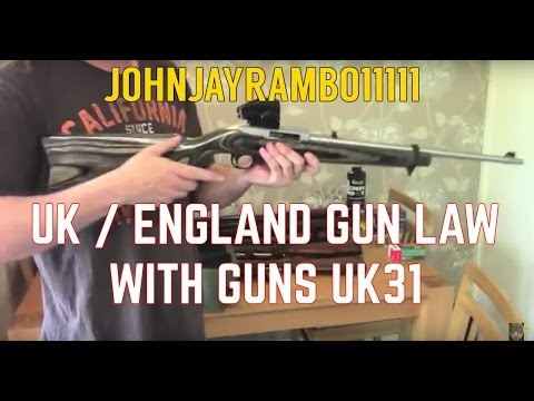 UK Gun Laws (England )