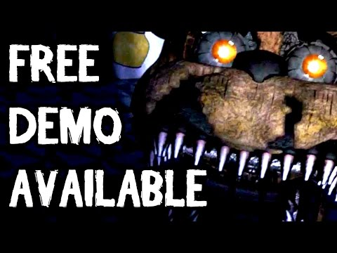 Five Nights at Freddy's 4 FREE DOWNLOAD AVAILABLE ON INDIEDB || FNaF 4 DEMO  FREE DOWNLOAD