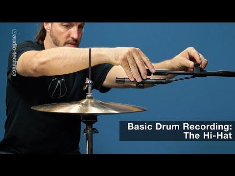 Basic Drum Recording: The Hi-Hat