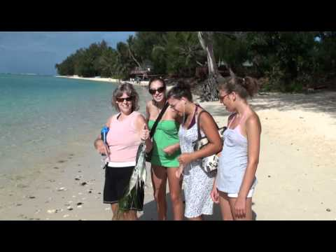 HERE WE ARE IN THE COOK ISLANDS PART 02 MURI BEACH RESORT