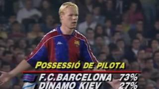 CL 1993 94 Barcelona   Dinamo Kiev