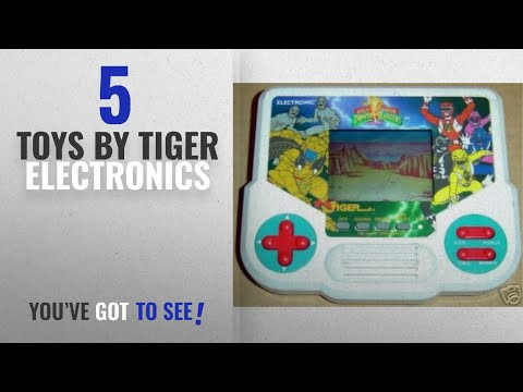 Top 10 Tiger Electronics Toys [2018]: Mighty Morphin Power Rangers Handheld Game by Tiger
