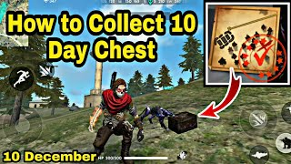 How to Collect FreeFire 10 Day Treasure Chest || How to Get 10 Day Elite Pass Treasure Chest.