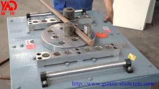 GW40/GW50 Rebar Bender/Steel Bar Bending Machine Video