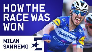How The Race Was Won   Milan Sanremo 2019 Highlights   Cycling   Eurosport