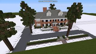 Minecraft Home alone Mcallister house