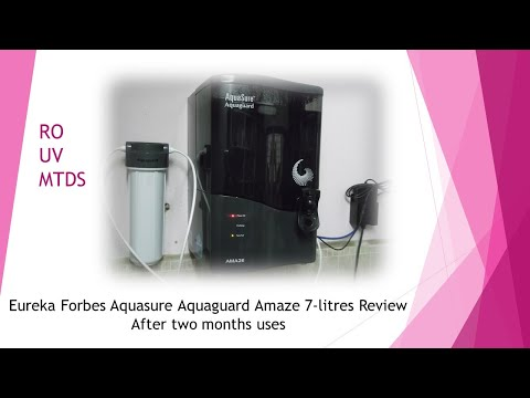 Eureka Forbes Aquaguard Review After 2 Months Uses in Hinglish