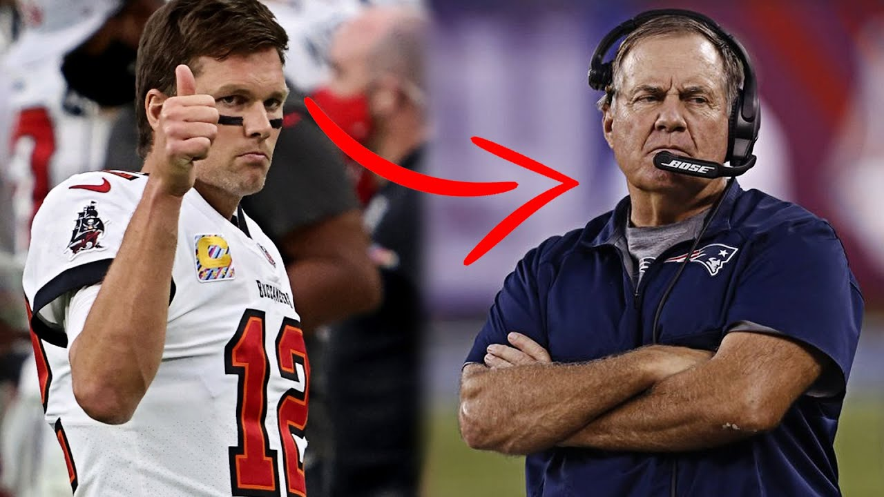 The Reason Why Tom Brady Left Bill Belichick & the New England Patriots for the Tampa Bay Buccaneers