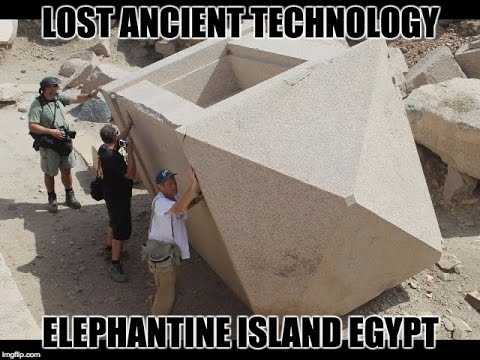 Evidence Of An Ancient Cataclysm At Elephantine Island In Egypt