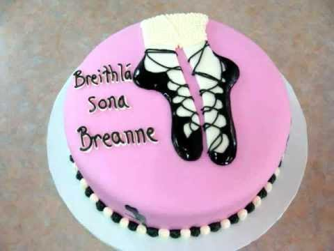 Fondant Irish Dancing Shoes