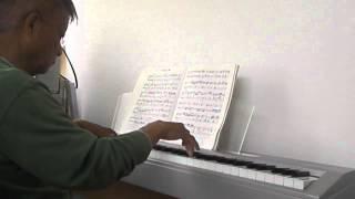 J.S.バッハ  平均律ピアノ曲集  第1巻 変ホ単調プレリュード