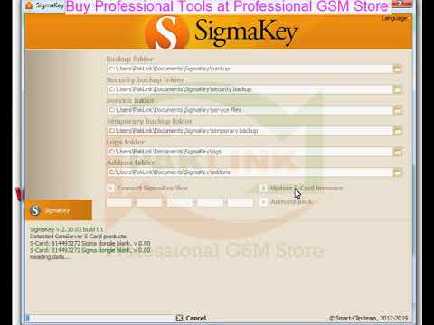 Sigma Key With Pack 1, 2, 3 Activation's - Professional GSM