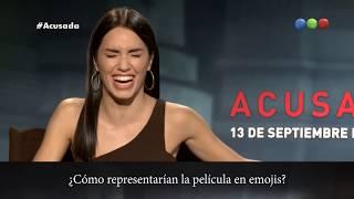 Acusada - Entrevista a Lali Espósito, Leo Sbaraglia y Daniel Fanego - Cine en Telefe