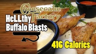 Cheesecake Factory Buffalo Blasts Appetizer Recipe - Hellthyjunkfood