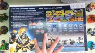 Maskounboxing -Skylanders Swap Force Dark Edition Unboxing ITA- UN POSTER ENORME!