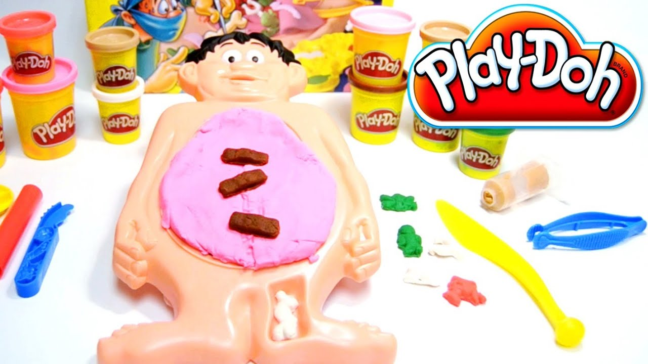 Play Doh Operation Game Doctor Playset Play Dough By