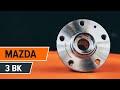 Cómo cambiar cojinete de rueda en MAZDA 3 BK [INSTRUCCIÓN]