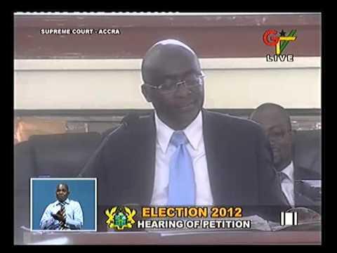 Tsatsu Tsikata Cross Examines Dr. Bawumia Court day 9 30-04-13 01 ...