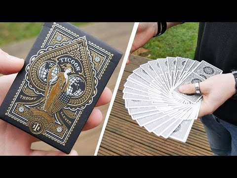 Deck Review - Tycoon Black Edition Playing Cards [HD-4K]