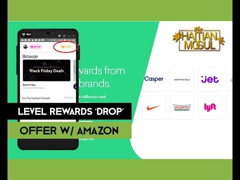 Level Rewards Drop Offer | Free Amazon Credits