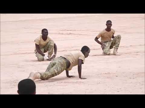 Dhoolatus Ciidanka Komandooska Somaliya - NISA - Somali Military