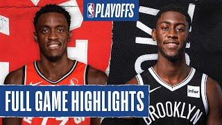 RAPTORS at NETS | FULL GAME HIGHLIGHTS | August 21, 2020
