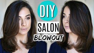 DIY AT HOME Salon Blowout | Tips + Tricks