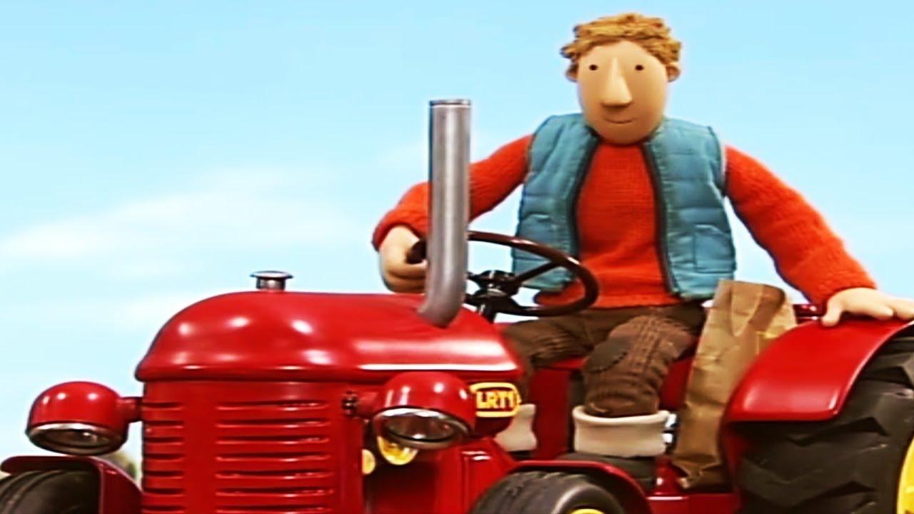 kleiner roter traktor  endlich wasser  cartoon  ganze